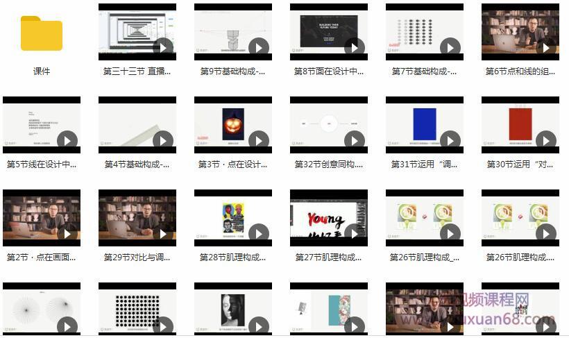 设计师必修课:平面构成与版式设计目录