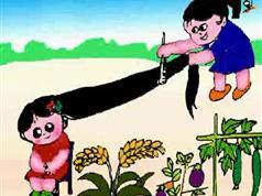 学前班儿童语言训练课程-儿童绕口令学习动画