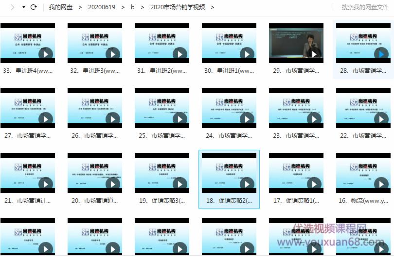 任艳华:2020自考《市场营销学》视频课程