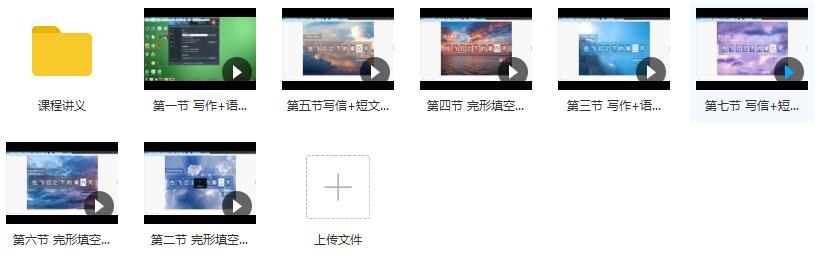 2019通用版高三英语寒假系统复习教学视频目录