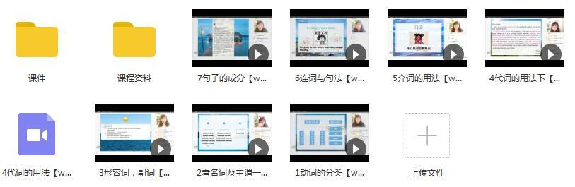 2019通用版高三英语暑期系统复习教学视频目录