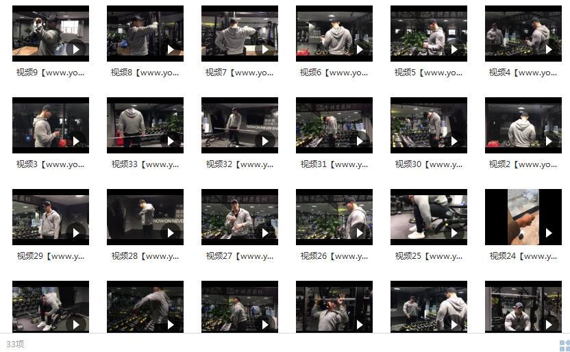 鹿神肩部训练视频_健身视频教程_肩部肌肉锻炼目录