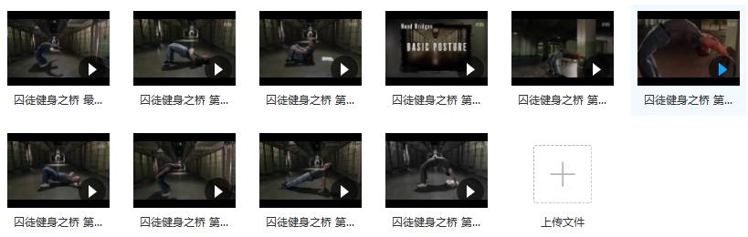 囚徒健身之桥教学_矫正脊椎增强肌肉_桥系列(配套视频全集)目录