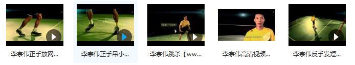 羽毛球击球绝技视频合集内容目录