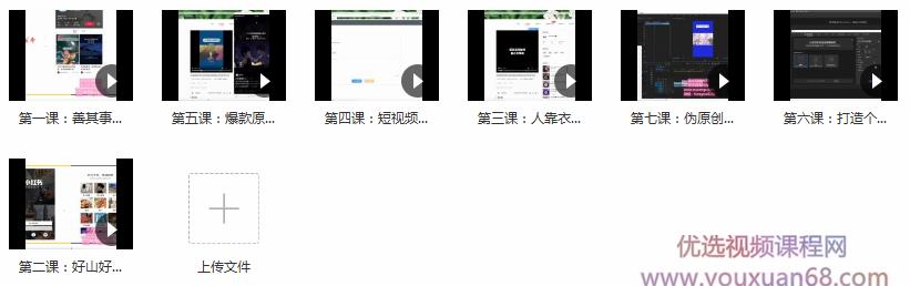 最新网赚项目:适合新手入门短视频副业_小红书矩阵号副业视频教程